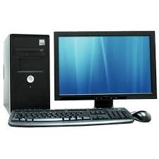 Assembled desktop set